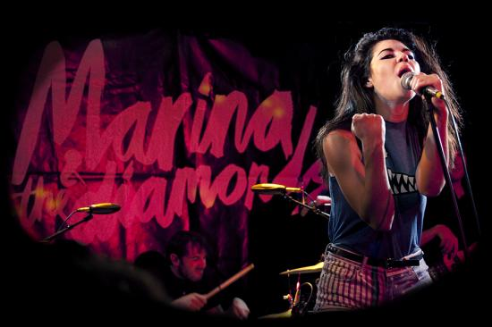 Marina and the Diamonds at FrannzClub, Berlin